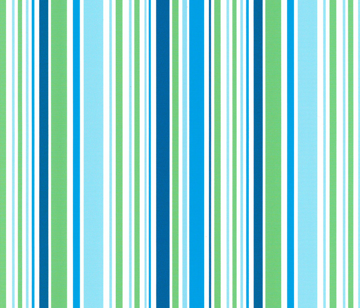 Candy Stripe<br/>Green & Teal